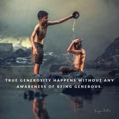 True generosity - Katie Byron