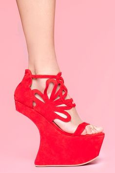 Jeffrey Campbell 'Corleone' platform.  what a name, what a shoe!  :))