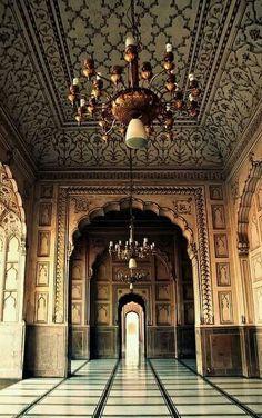 Badshahi  Mosque, Lahore, Pakistan