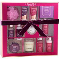 Ulta 12 Days Of Bath 12 Piece Bath Gift Set Beauty Advent Calendar Gift Set