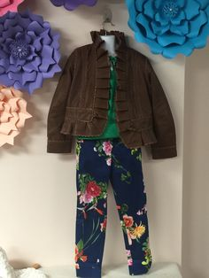 This entire Dimity Bourke outfit is available at Honeypiekids.com. #dimitybourke #childrensfashion