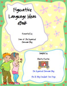 Figurative Language eBook Freebie!  -