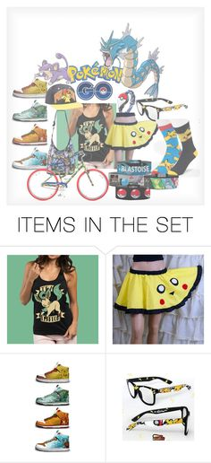 """""""My Pokemon Go outfit!"""" by custardandfishsticks ❤ liked on Polyvore featuring art"""