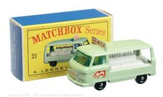 Matchbox Regular Wheels No.21C Commer Bottle Float