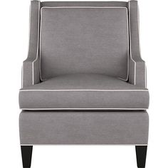 Barrington Chair in Sofas | Crate and Barrel...love those clean lines!!!