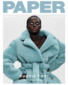Duckie Thot for Paper Magazine Fall 2017 | Art8amby's Blog Be featured in Model Citizen App, Magazine and Blog. www.modelcitizenapp.com