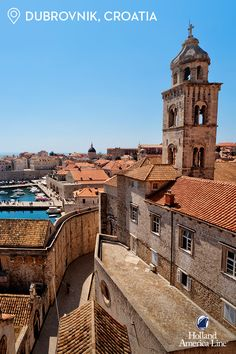 Beautiful Dubrovnik, Croatia // It seems as though the sun never stops glittering on the Adriatic. A true gem in the Mediterranean, the old town shines brightly with limestone streets and baroque architecture. See it for yourself when you book one of our Explore4 offers.