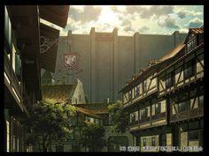 進撃の巨人 | 株式会社美峰 Attack On Titan Aesthetic, Attack On Titan Art, Titan World, Minecraft Plans, Japanese Landscape, Photography Filters, Anime Scenery Wallpaper, Anime Style, Wallpapers