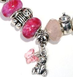 New Mother's Bracelet It's a Girl by BrankletsNBling on Etsy,