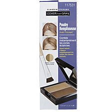 Claudia Stevens Cover That Gray Blonde Fill-In Powder: Claudia Stevens Cover That Gray Fill-In Powder instantly fills in thinning areas. Grey Blonde, Blonde Color, Bald Patches, Hair Bow Tutorial, Sally Beauty, Cover Gray, Face Powder, Mineral Oil, Medium Brown