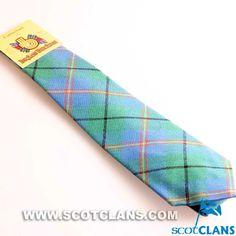 Clan Carmichael Tartan Tie