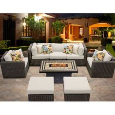 Outstanding Comfort And Structural Integrity Make Our Venice Seating  Collection A Welcome Addition Outdoors. Multifaceted, Rich Brown Fibers Are  Smoothly ...
