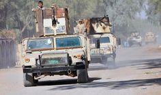 """وصول عسكرية الى قاعدة عين الاسد لتحرير بعض المناطق من """"داعش"""" http://alghadeer.tv/news/detail/22021/"""