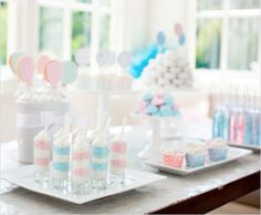 Pink or Blue Baby Shower Ideas from Pottery Barn Kids!