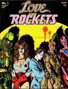 fourbeatsoff requested Love and Rockets. Love and Rockets September cover by Jaime Hernandez Underground Comics, Best Comic Books, Comic Books Art, Book Art, Novels For Beginners, Cartoon Art Museum, Jordi Bernet, Love And Rockets, Superman