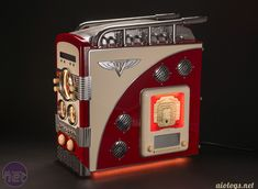 *Bit-tech Mod of the Year 2014 In Association With Corsair Streamliner by aio Computer Build, Home Computer, Computer Case, Gaming Room Setup, Pc Setup, Home Gadgets, Gadgets And Gizmos, Steampunk, Arte Nerd
