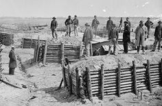 The trenches at Petersburg, near Richmond, where Confederate troops (including Jeremiah) defended the city for 10 months. Historical Romance, Historical Photos, American Civil War, American History, Siege Of Petersburg, Civil War Photos, History Facts, Military History, Battle