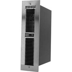 King Electric 1500-Watt Fan Forced Kick Space Heater with Hi Low Switch in Stainless Trim Grille-KTW1215-HLS-TGSS - The Home Depot