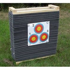 homemade foam archery target - Google Search