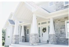 Love the look of these front steps