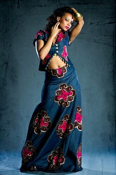 Beautiful make~up is our hallmark!: Denim Kitenge Look~Book 2012 by Eve Collections