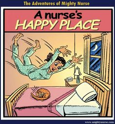 This is already my happy place and I am just a nursing student!