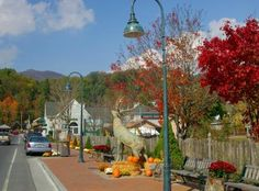 Downtown Banner Elk, NC...in the heart of the High Country