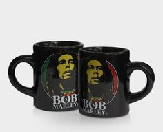 **Bob Marley** Crazy Mug. More fantastic cups & pots, pictures, music and videos of *Robert Nesta Marley* on: https://de.pinterest.com/ReggaeHeart/