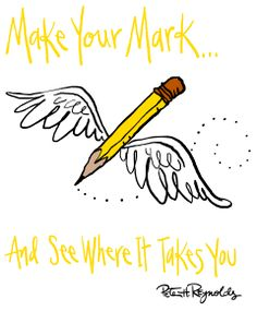 """Are you and your students ready to """"Make Your Mark!"""" on #DotDay - on or around September 15th-ish?  Be sure to register here (it's free!) so your dots can be counted in the global tally . . ."""