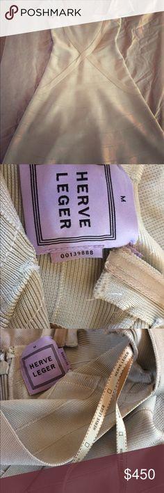 Dress A line Herve Leger Dresses Midi
