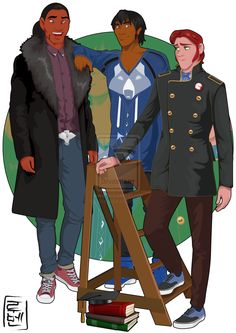 Disney University - Sitka, Denahi and Hans by Hyung86.deviantart.com on @deviantART