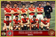 Benfica in 1963. They lost to AC Milan at Wembley in the European Cup Final.