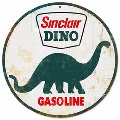 Sinclair Gasoline Metal Sign- 28 inch