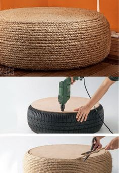 Live creatively: You can easily insert these 4 cool DIY furniture Kreativ wohnen: Diese 4 coolen DIY Möbel kannst du ganz einfach selber machen! Tired of off-the-shelf furnishings? So you can build DIY furniture yourself! Cool Diy, Diy Furniture, Furniture Design, Bedroom Furniture, Diy Bedroom, Furniture Plans, Painting Furniture, Repurposed Furniture, Furniture Stores