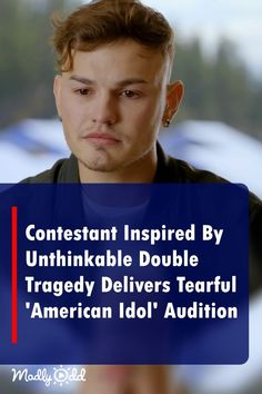 """""""Inspired By Unthinkable Tragedy Contestant Delivers Tearful 'American Idol' Audition American Songs, American Idol, Talent Show, America's Got Talent, Music Sing, Live Music, Voice Auditions, Funny Riddles, Show Dance"""