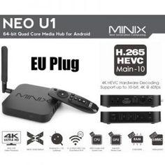 Een Mediaplayer die mogelijk bekend is bij een groter publiek! De MiniX Neo U1 is een snelle Android FullHD/4K Mediaplayer met alles erop en eraan! Heeft een eigen MiniX interface voor het gebruikersgemak! Nu maar €92!  http://gadgetsfromchina.nl/minix-neo-u1-android-2gb16gb-mediaplayer-e92/  #Gadgets #Gadget #aanbieding #sale #minix #Neo #Android #mediaplayer #tv-box #kodi #design #wifi #tech #technology #home #series #movies #movie #fun #geek #lifestyle #smarttv #gadgetsfromchina #gearbest