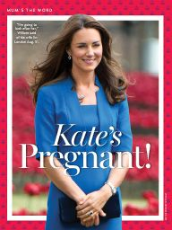 "I saw this in ""Kate's Pregnant!"" in US Weekly September 22, 2014."