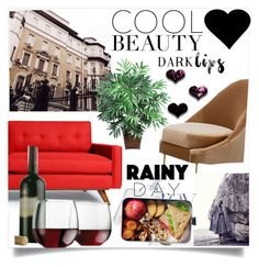 """""""cool party"""" by emma2000rad ❤ liked on Polyvore featuring interior, interiors, interior design, home, home decor, interior decorating, Thrive, Nearly Natural and Libbey"""