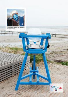 Mit mobile køkken  på havnen i Køge ved kunstudstillingen Urban Play