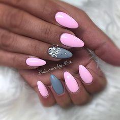 Login pink - Famous Last Words Pink Nail Designs, Pretty Nail Designs, Pretty Nail Art, Pretty Nails For Summer, Summer Nails 2018, Pink Nails, Glitter Nails, Nail Design Video, Nail Art Videos