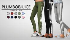 Adidas Leggings - PLUMBOBJUICE