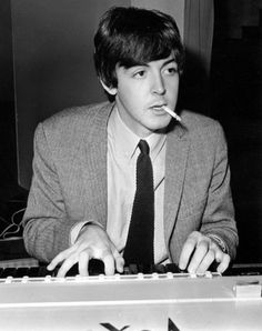 Paul in Leicester, 1963