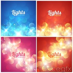 Bright spot background vector