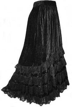 saias longas goticas                                                                                                                                                                                 Mais
