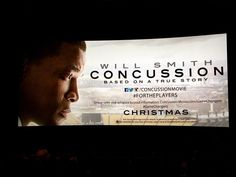 Blessed to attend a screening of @concussionmovie tonight with @sandinthesoul - Go See This Film!!! #ForThePlayers #ConcussionMovie #GameChangers