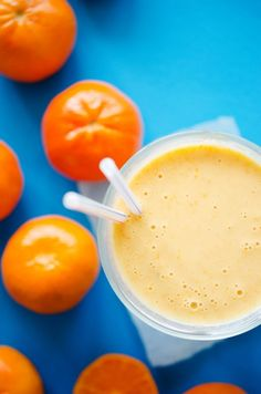 Healthy Orange Dreamsicle Smoothie