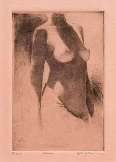 Stephen Scott Young - Morris & Whiteside Galleries #female #form #etching #southernart