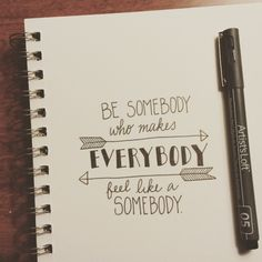 "Amanda T - Day 12/100. ""Be somebody who makes everybody feel..."