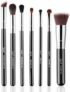As Sigma Brushes - Concealer Blending Blush Liner Shading Foundation Contour Sigma Brushes Set, Sigma Makeup Brushes, Beauty Brushes, Best Makeup Brushes, It Cosmetics Brushes, Makeup Tools, Makeup Cosmetics, Best Makeup Products, Beauty Products