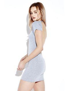 Sale 23% (16.99$) - Sexy Backless Bodycorn Short Sleeve Party Women Mini Dress